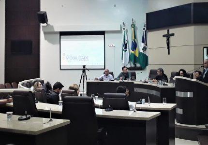 Plano de Mobilidade Urbana: diagnóstico de pesquisas e ações é apresentado em audiência pública