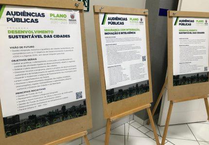 Guarapuava encerra audiências públicas do Plano Plurianual