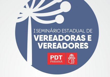 PDT-PR realiza I Seminário de Vereadoras e Vereadores em Guarapuava