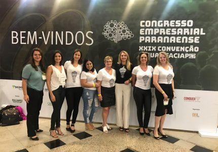 Representantes da Acig participam do Congresso Empresarial Paranaense
