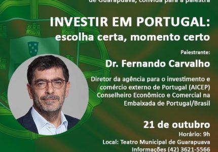 Guarapuava recebe representantes de Portugal para avaliar parcerias comerciais