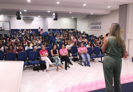 Palestra e doação de cabelo integram programação do Outubro Rosa na Guairacá