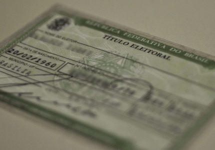 TSE disponibiliza serviço que permite conferir a situação do título de eleitor