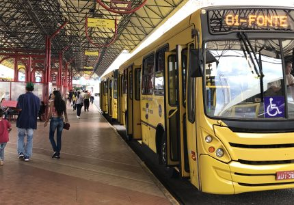 Passagem de ônibus ficará R$ 0,35 mais cara em Guarapuava