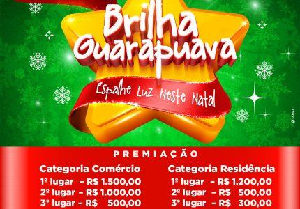 Acig prorroga inscrições do Concurso Brilha Guarapuava