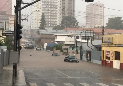 #RT14 – Alagamentos permanecem um problema em Guarapuava