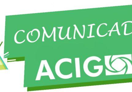 Comunicado Acig – Horário do Comércio