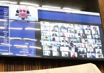 Deputados reconhecem calamidade pública em Cascavel e Guarapuava em decorrência do COVID-19