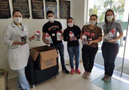 Páscoa Solidária: Guairacá faz doação de chocolates para profissionais que atuam no combate ao Covid-19