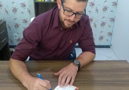 Vereador Gilson da Ambulância troca o PSD pelo Solidariedade nos últimos dias da janela partidária