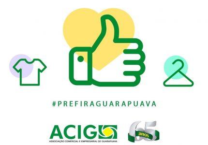 Acig inicia campanha de apoio ao comércio local