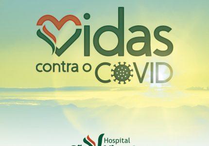 Hospital São Vicente lança campanha Vidas contra o Covid