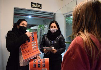 'Alô, vizinha (o)!' Campanha estimula combate a violência doméstica em Guarapuava