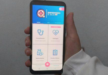 Estudante da Unicentro cria aplicativo que auxilia profissionais de Enfermagem