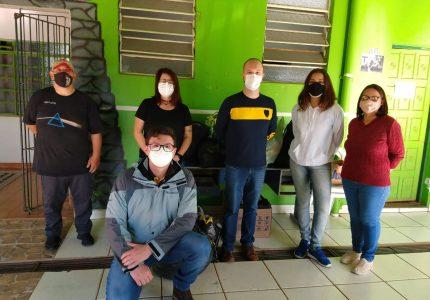 MDB e PDT entregam arrecadações de campanha solidária ao albergue de Guarapuava