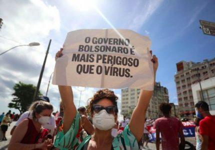 """""""Bolsonaro é mais perigoso que o vírus"""", diz mídia internacional sobre manifestações do último sábado"""