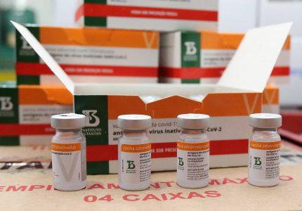 Nova remessa da Coronavac com 57,8 mil doses chega ao Paraná neste sábado