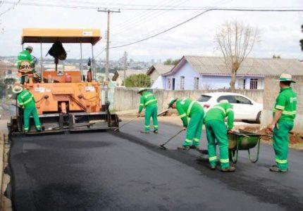 TCE-PR firma TAG com Guarapuava para município corrigir obras de pavimentação