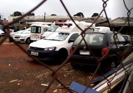 """""""Sobrando motorista e faltando carro"""": servidor denuncia falta de ambulâncias em Guarapuava"""