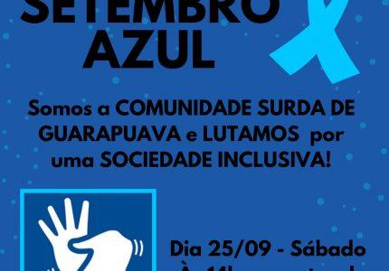 Comunidade Surda de Guarapuava realiza manifestação em prol de direitos neste sábado (25)