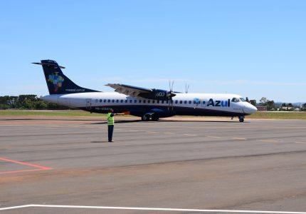 Azul deve retomar voos ligando Guarapuava à Campinas